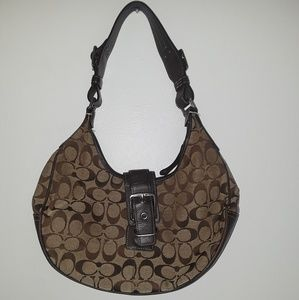 COACH 6363 Hobo Bag Purse Belt Buckle